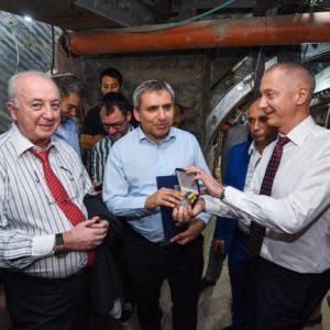 Boris Lozhkin and Ze'ev Elkin